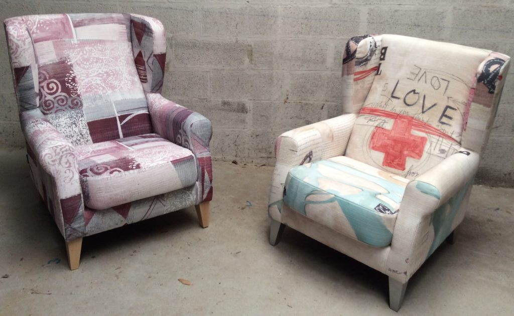 meubles mercier fauteuils berg res fama. Black Bedroom Furniture Sets. Home Design Ideas