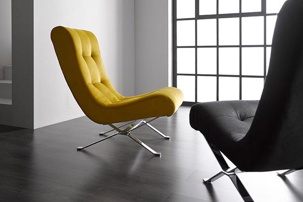 fauteuil déco design Oliv